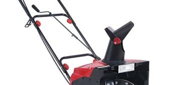 Schneefräse mit Elektromotor